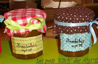 Des pots de confiture...so kitch!!!!