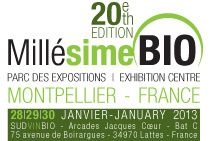 Salon MILLESIME BIO - Montpellier - On y sera !!