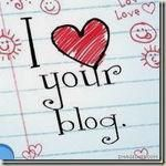 I love your blog !