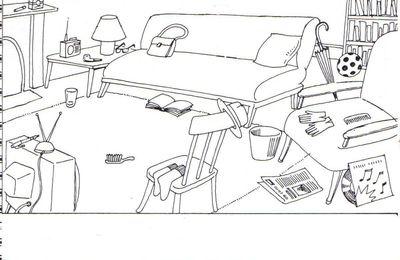 (A1) - Situer dans l'espace : devant...., derrière,...