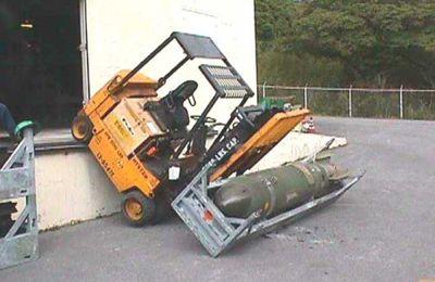 Brennilis. Un convoi symbolique de déchets (anti)nucléaires en route pour Vannes (LT + OF)