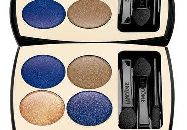 Tendance maquillage automne 09 : yeux bleu marine, bleu roi, doré. And the winner is : la palette Liberté de Lancôme !