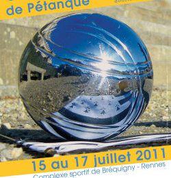 PROGRAMME DU CHAMPIONNAT DE FRANCE DOUBLETTES SENIORS 2011.