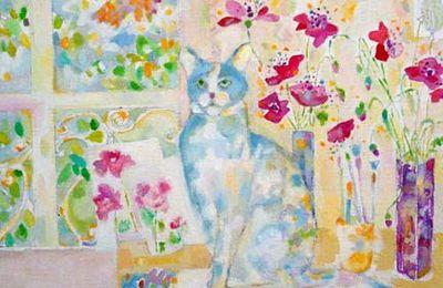 Le chat bleu !