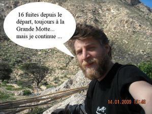 Samuel Huaux toujours sur les routes européennes en 2009