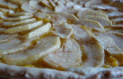 Tarte aux pommes et aux agrumes