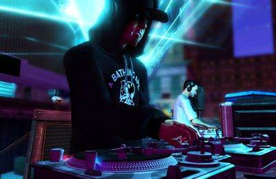 Du gameplay pour DJ Hero !