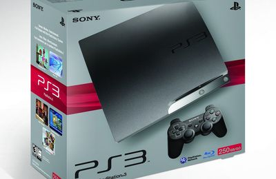 La PS3 Slim 250 Go déja en vente en France !