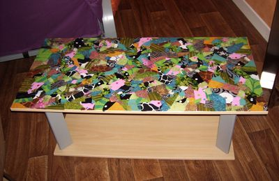 "Table basse ""patchwork"""
