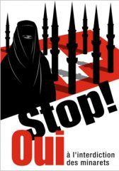 57% des Suisses approuvent l'interdiction des minarets