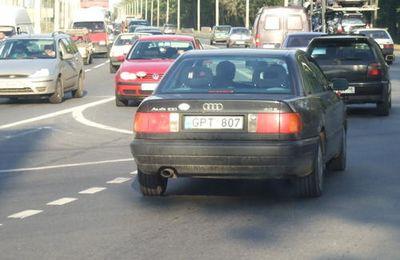 Pollution automobile à St-Pétersbourg