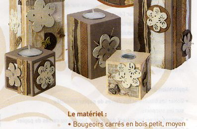 Atelier Bougeoirs et Soliflores