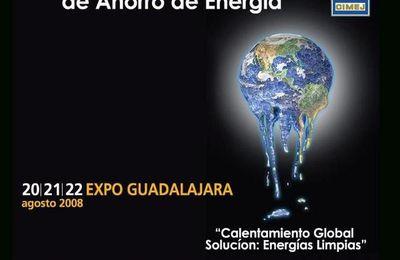 Actualidades TRINYSOL - Por primera vez en México, TRINYSOL va a presentar una parábola solar de 10m2 en la Expo Energía Guadalajara 2008