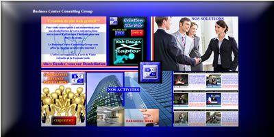 BCCG : Création de site web