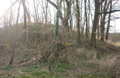 Une motte castrale éventrée en vallée du Cher