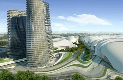 Cairo Expo City by Zaha Hadid architects