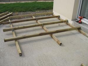 Retour sur la construction de la terrasse