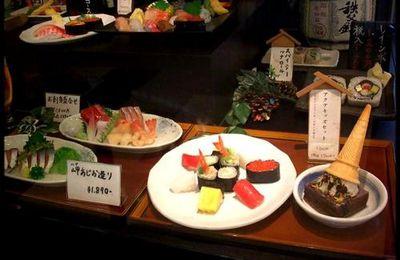 [ 日本 ] Nourriture en plastique