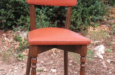 Histoire d'une chaise...