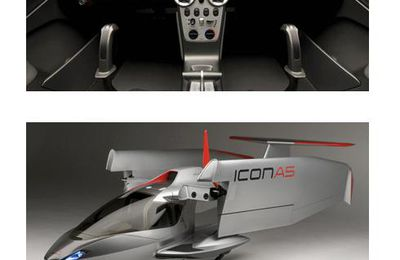 Icon A5 - Avion 2 places à ailes retractables