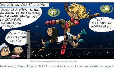 Le catch des miss