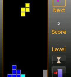 Jeu de Tetris gratuit pour téléphone HTC Touch HD et Diamond
