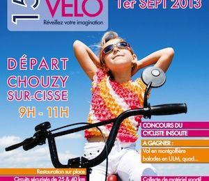 Dimanche 1er Septembre : la 15ème Fête du Vélo