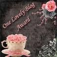 One Lovely Blog Award ( prix )