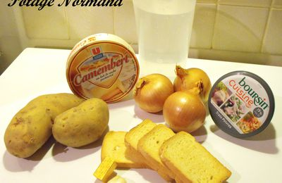 Potage Normand au Camembert