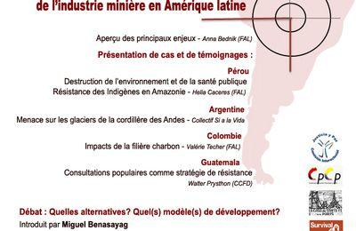 Impacts socio-environnementaux de l'industrie minière en Amérique latine