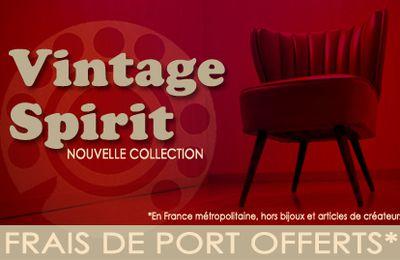 Esprit Vintage pour la fin de l'été...