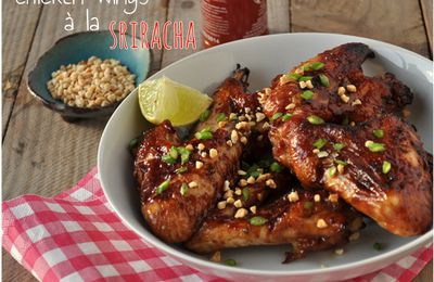 Chicken wings à la Sriracha