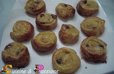 Mini Pains aux Raisins express