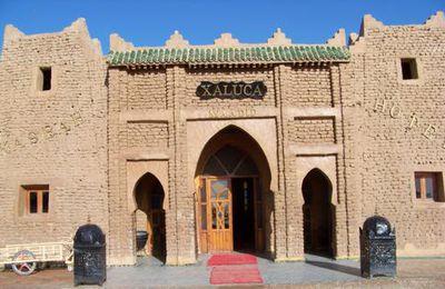 Le sud du Maroc: Kasbah Hotel Xaluca - Arfoud