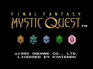 Mystic quest legend (Final fantasy : Mystic quest)