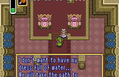 Zelda A link to the future - chapter 1 : the departure