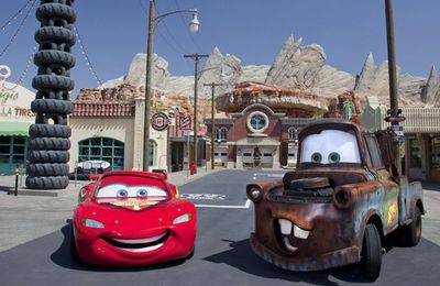 visite: Cars Land à Disneyland en Californie