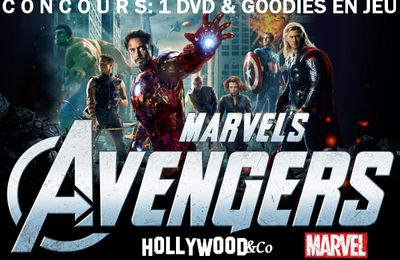 concours: Avengers [DVD + Goodies à gagner !]