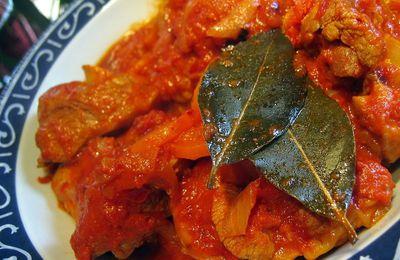 Osso-bucco de dinde à la tomate