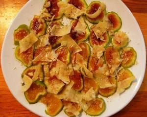 Carpaccio de figues