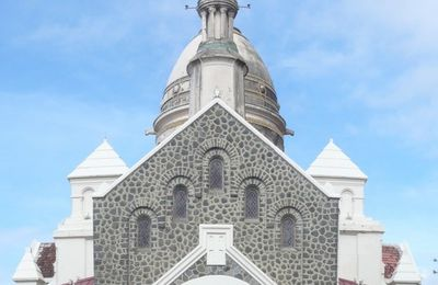 Martinique: eglise de Balata (1)