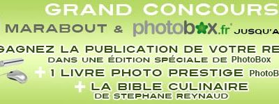 Grand concours Marabout & Photobox