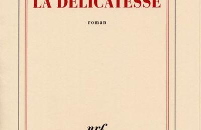 La délicatesse, David FOENKINOS (Gallimard)