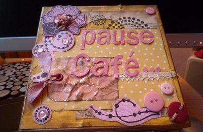 Boite à thé VS Boite à café (toujours d'aprés le tutoriel de virginy !!)
