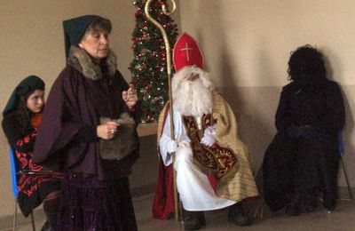 Les derniers descendants Hackspill à Hestroff pour la Saint-Nicolas