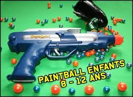 Paintball en famille