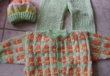Babyset in Mint