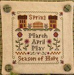 SAL Little House Needleworks - Les saisons - Le printemps