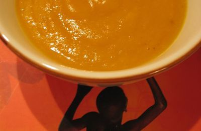 Soupe carotte-curry-coco