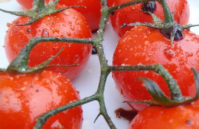 Tomates cerises poêlées